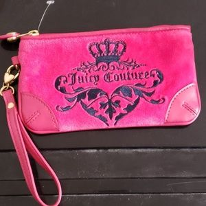 Juicy Couture Velvet Wristlet